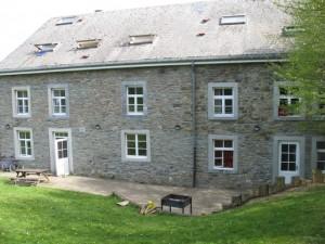 Groepshuis Dubois achterkant