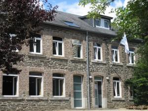 Groepshuis La Roche voorzijde