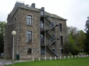 Groepshuis Dom de Renval achterzijde