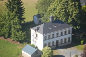 Groepshuis Florenville luchtfoto